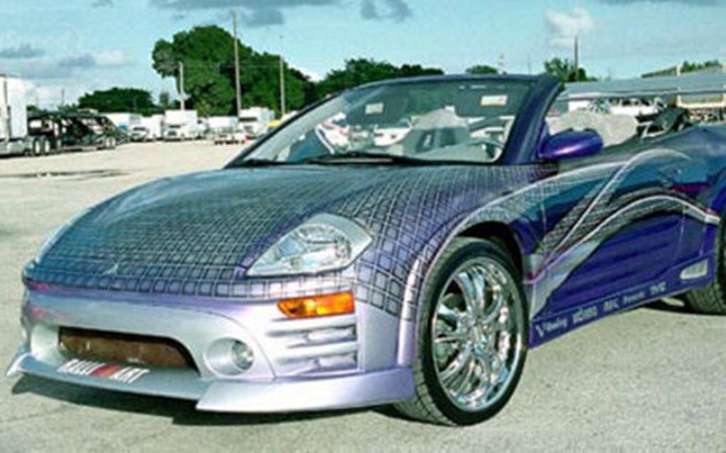 Fast And The Furious Cars Top 10 Mitsubishi Eclipse Spyder