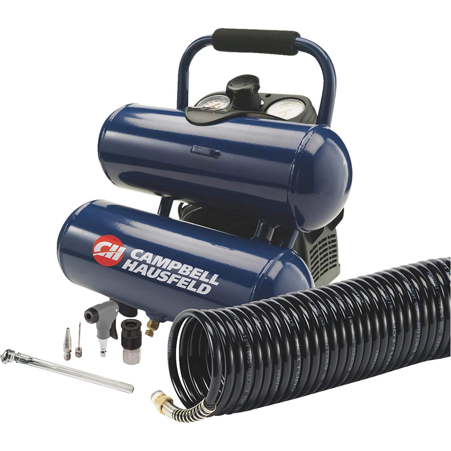 2 Gallon Twin Stack Air Compressor Kit (With images
