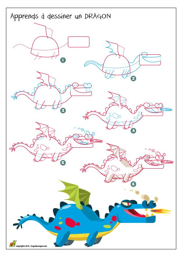 Dessiner un dragon how to draw dinosaur drawing drawings et alphabet drawing - Dessin un dragon ...