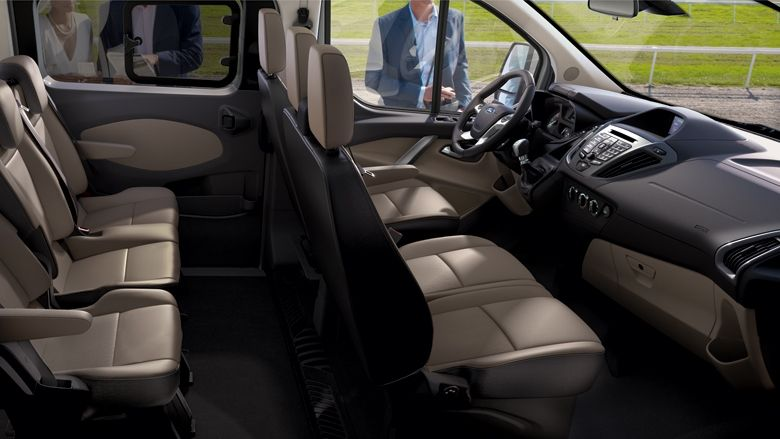 Tourneo Custom Interior Ford Transit Van Car Custom Vans