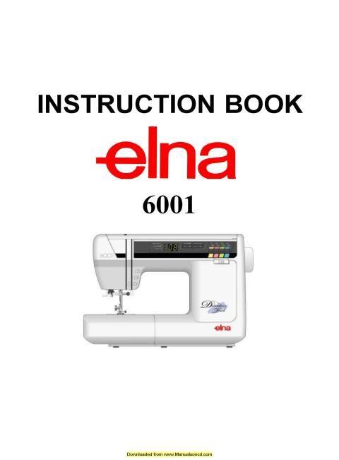 Elna 40 Sewing Machine Instruction Manual Sewing Machine Manuals Stunning Bobbins For Elna Sewing Machine