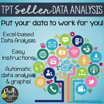 Tpt Seller Data Analysis  Planner  Editable Excel Files  Data