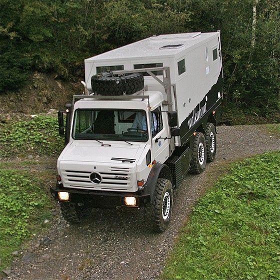 MD52h / Unimog U 4000 6x6 | tiny RvS | Pinterest | Vehicle, 4x4 and Cars