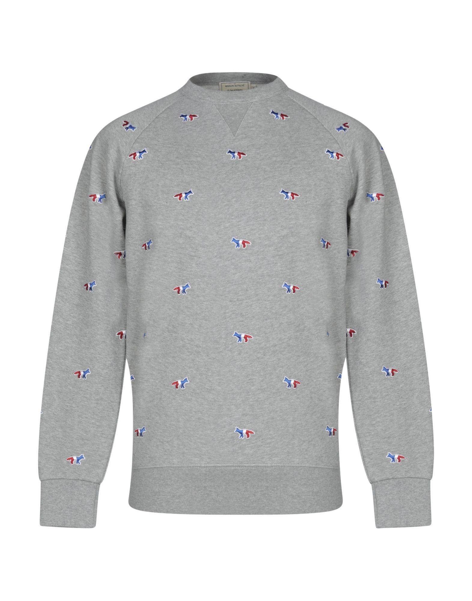 Maison Kitsune Sweatshirts Maisonkitsune Cloth Sweatshirts Maison Kitsune Embroidered Sweatshirts [ 2000 x 1571 Pixel ]