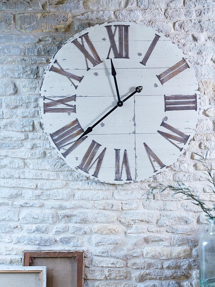Wooden Wall Clock Rustic Wood Clocks Decor Wooden Walls