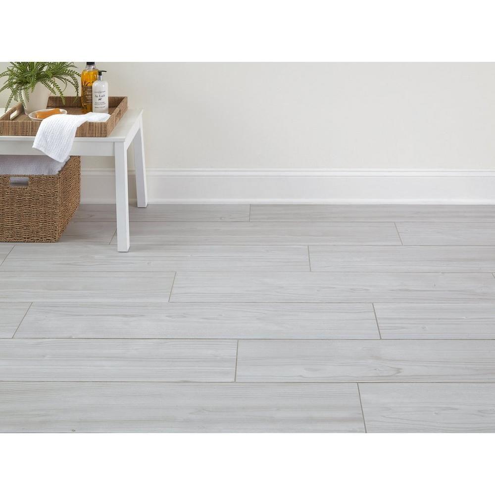 finland white wood plank porcelain tile