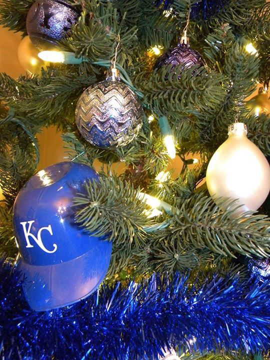 Elegant Kansas City Royals Christmas Tree