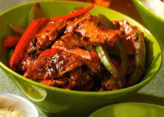 Celtnet Recipes Blog: Spicy Szechuan Pork