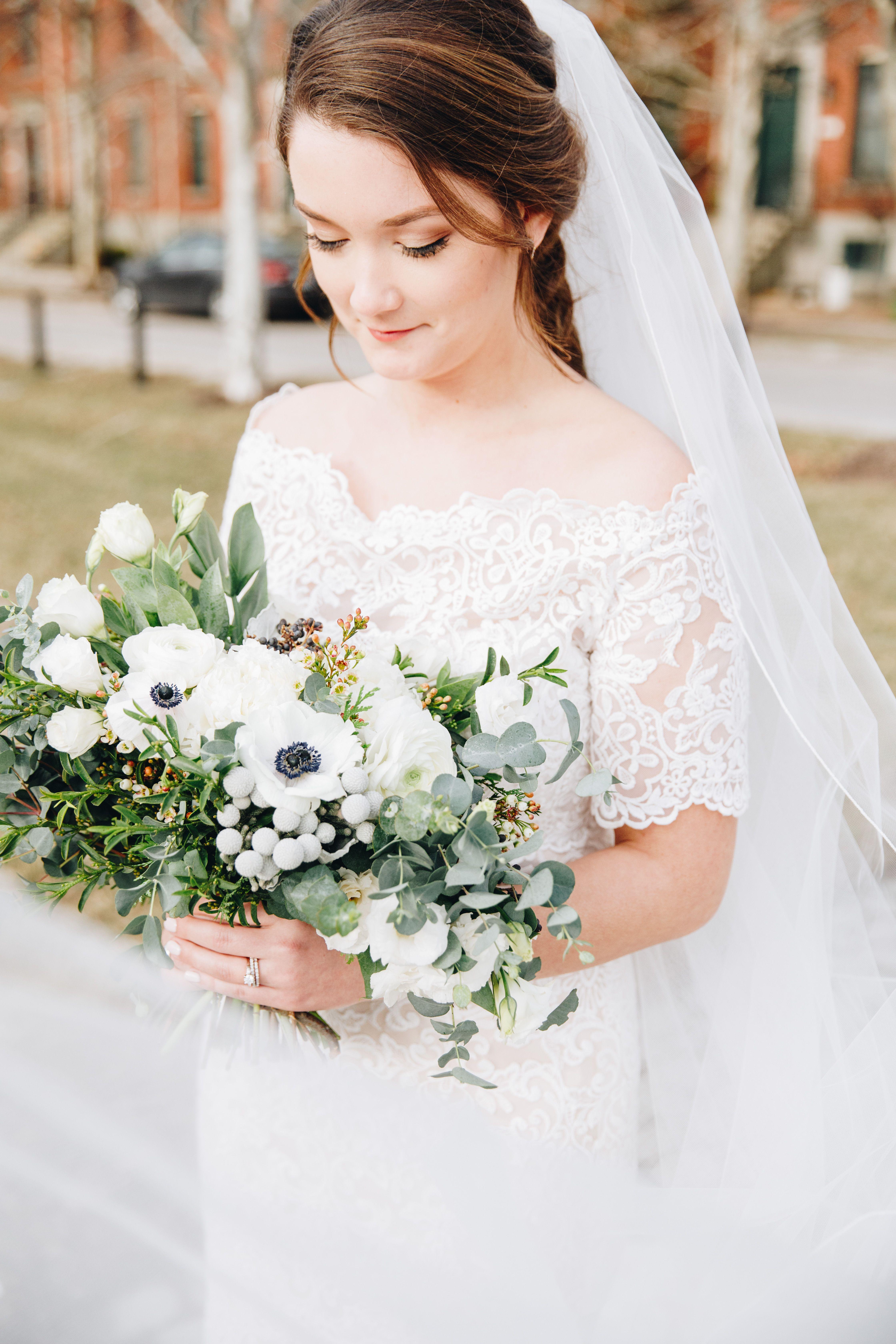 Photo Mccune Co Florals Roses Mint Mint Bridal Bouquet Fine Art Wedding Wedding