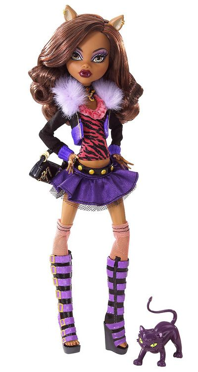 Clawdeen wolf monster high dolls monster high monster - Clawdeen wolf pyjama party ...