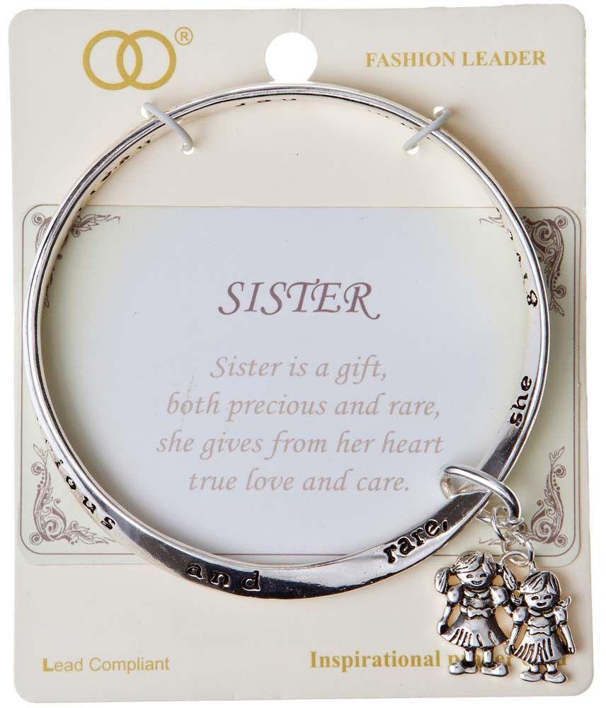 Silver Sister Mobius Bracelet
