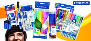 Staedtler Giveaway - Pin it for a chance to Win it! and visit www.tryonahomemadelife.com for more ways to win your Back to School Supplies.