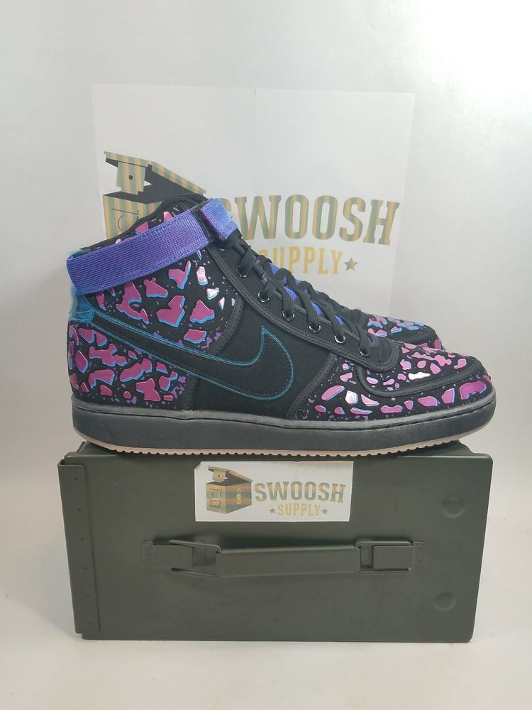 wholesale dealer 50f49 21a76 Nike Vandal Premium Qs All Star Area 72 Shoes Size 12 Black Crimson 597988  001 #Nike #AthleticSneakers