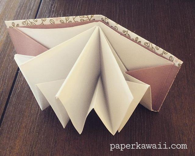 Origami Popup Book Video Tutorial Paper Kawaii Book Origami Pop Up Book Diy Book