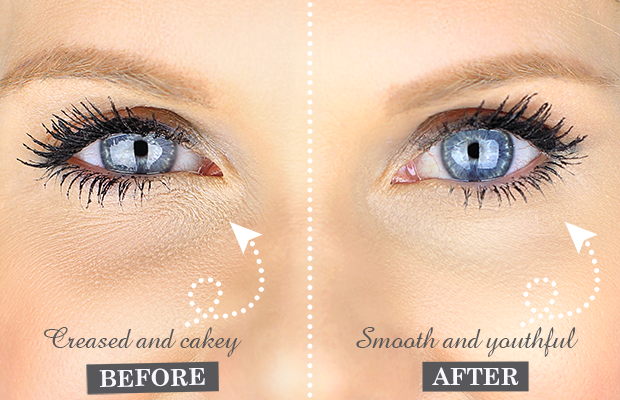 Smooth Under Eye Cover Under eye makeup, How to apply