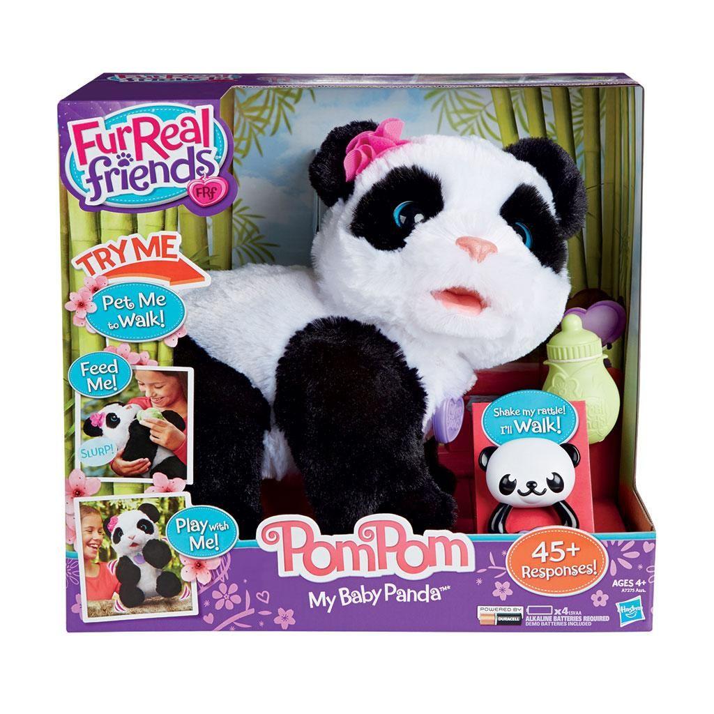 Amazon Com Furreal Friends Pom Pom My Baby Panda Pet Toys