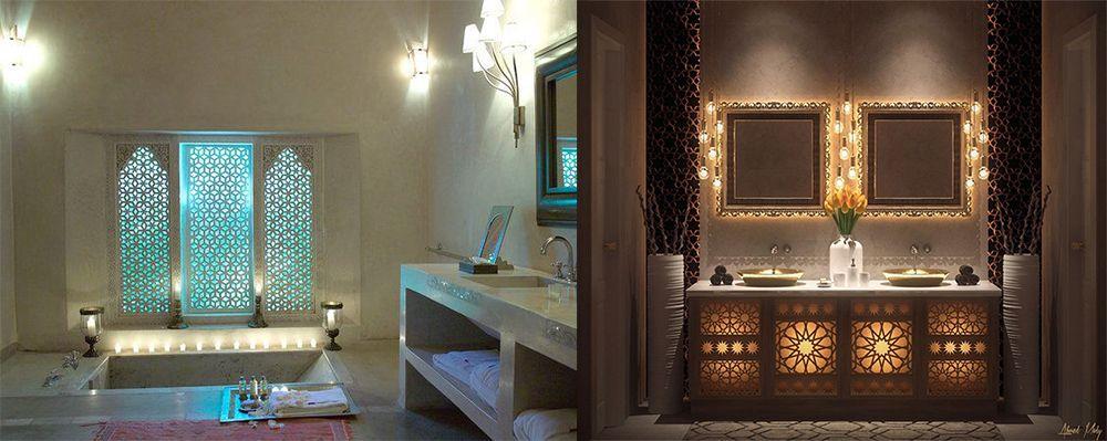 Marokkanisches Badezimmer 2018 Badezimmer Trends aus dem Osten