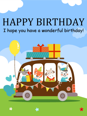 Its Time To Celebrate Happy Birthday Cards For Kids The Gangs