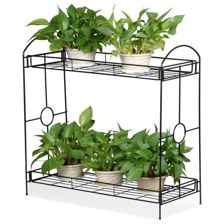 Patio Garden Metal Plant Stand Plant Stands Outdoor Plant Stand