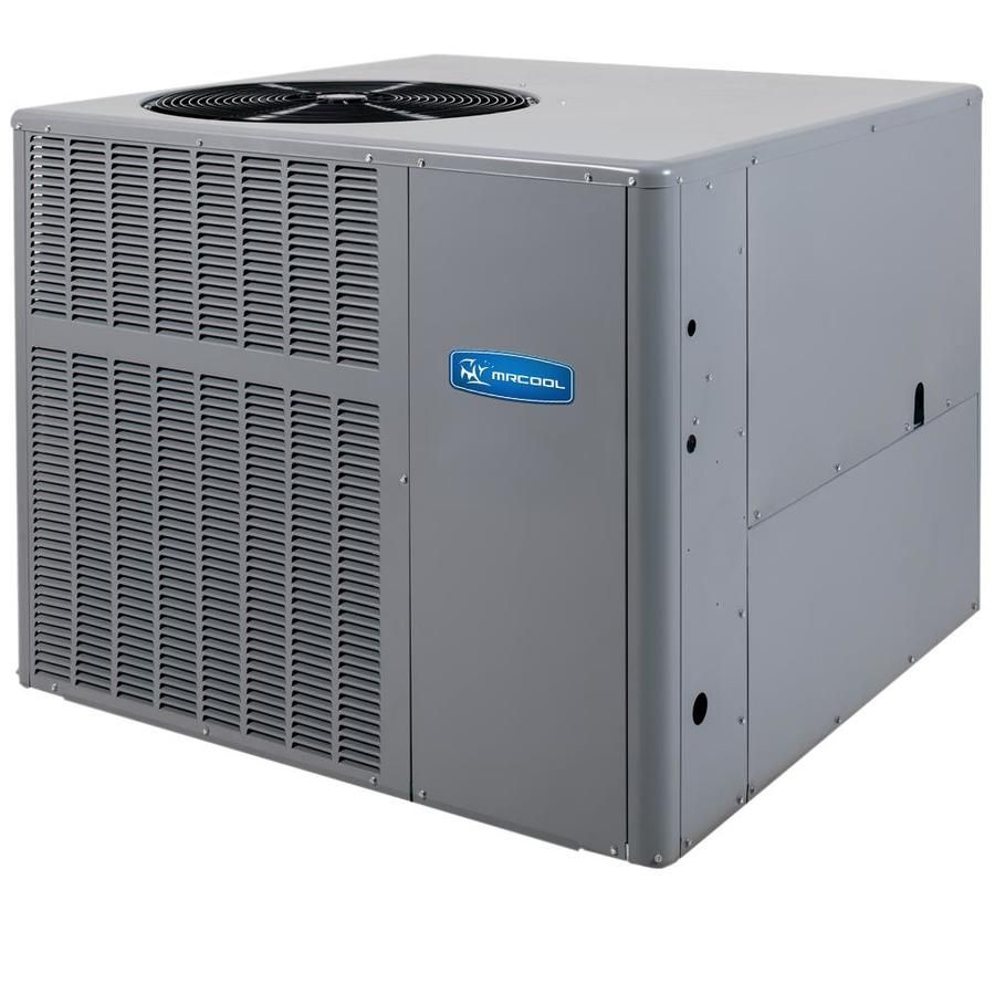 Mrcool Signature Series Gas And Ac Package Residential 5 Ton 14 Seer Central Air Conditioner Lowes Com In 2020 Central Air Conditioners High Efficiency Air Conditioner Central Air