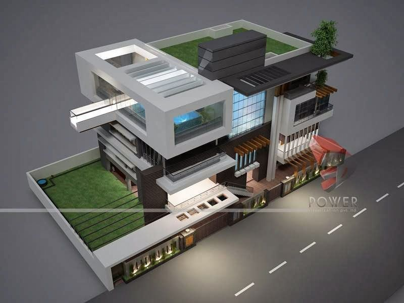 Bungalow Rendering 3d Exterior View Jpg 800 600 House Design Pictures Modern House Plans House Design Drawing