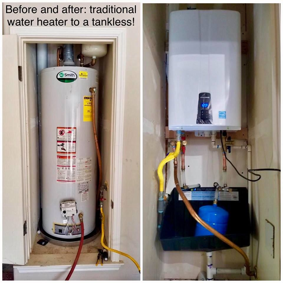 Big Family Always Running Out Of Hot Water Ask Us If A Tankless