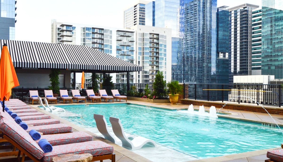 Anticipated Austin Hotel Za Za Zooms Into Downtown With Rooftop