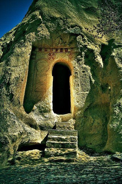 Porta na Capadócia, Turquia.