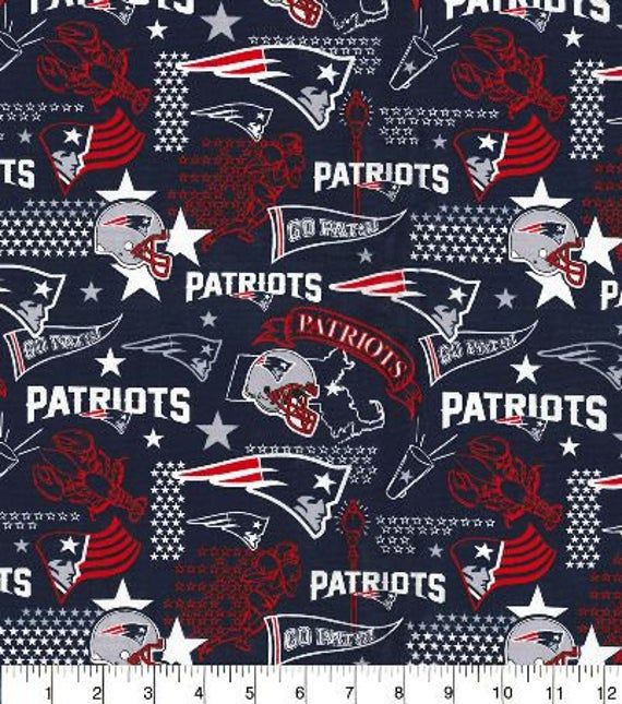 """45"""" New England Patriots fabric lobsters pennant National"""