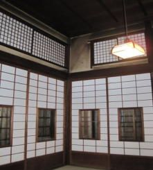 Japanese style painting artist Oukoku's former residence constructed in 1913