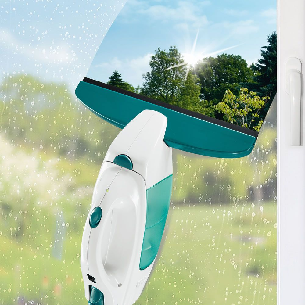 The Streak Free Window Washing Vacuum Hammacher