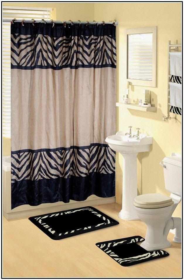 Bathroom Zebra Print Sets