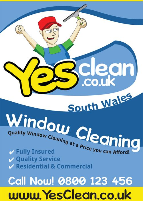 Window Cleaner Flyer Design Examples of some of the Graphic Design - flyers design samples