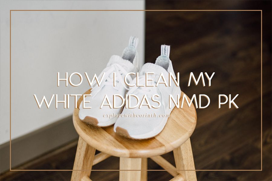 How I Clean my White Adidas NMD Primeknit | shoes | How to