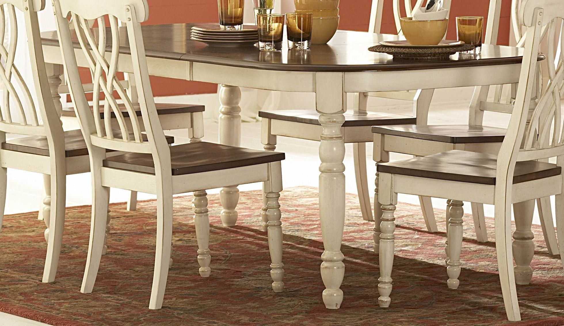 love these chairs homelegance rectangular dining table in