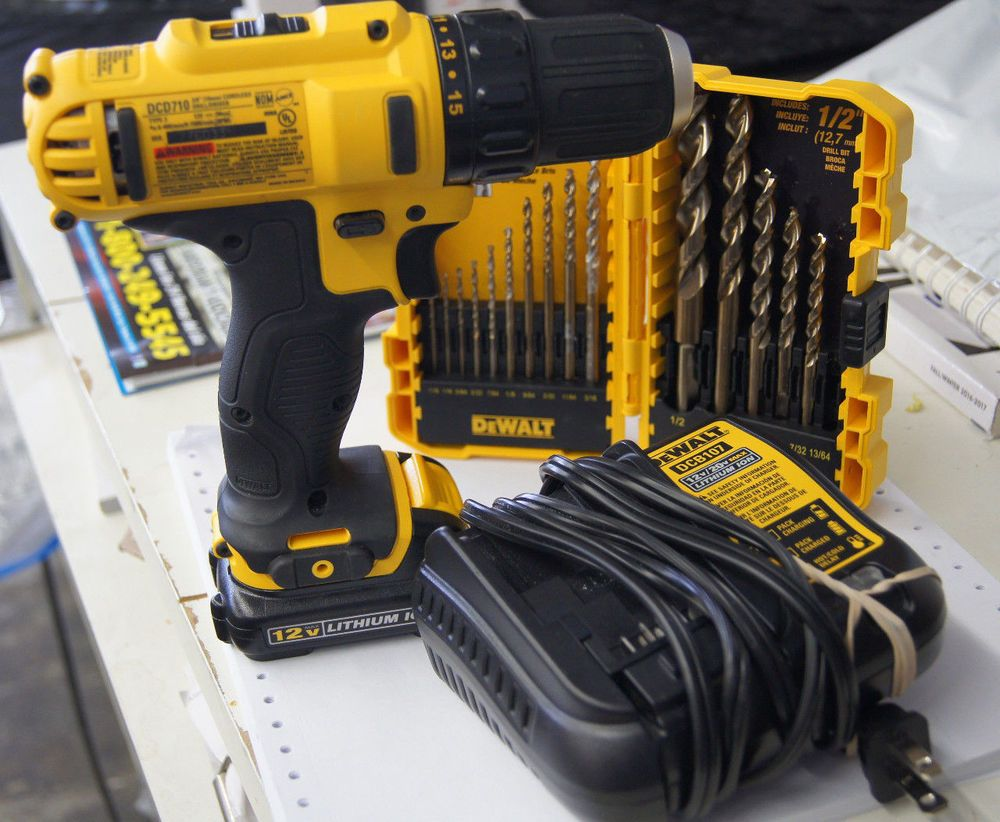 Dewalt Dcd710 12v Max 3 8 In Cordless Drill Driver With Battery Fresh Dewalt Dewalt Cordless Drill Drill Driver
