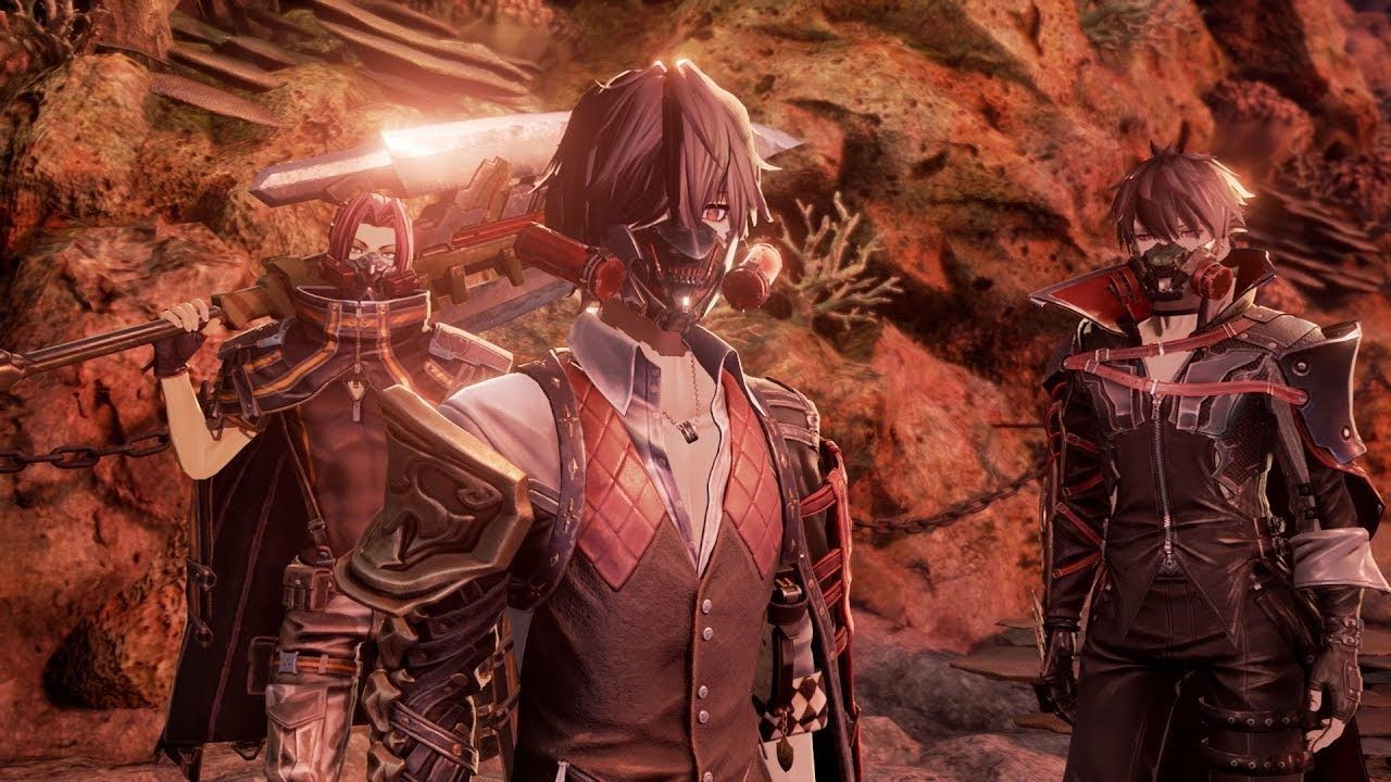Code Vein Behind The Scenes 4 X1 Ps4 Pc Coding Veins Latest Anime