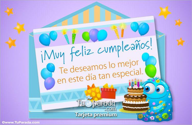 Tarjeta De Sobre Sorpresa De Cumpleaños Sobres Sorpresa Ver Tarjetas Postales Virtuales Tupara Invitaciones De Cumpleaños Sorpresa De Cumpleaños Cumpleaños
