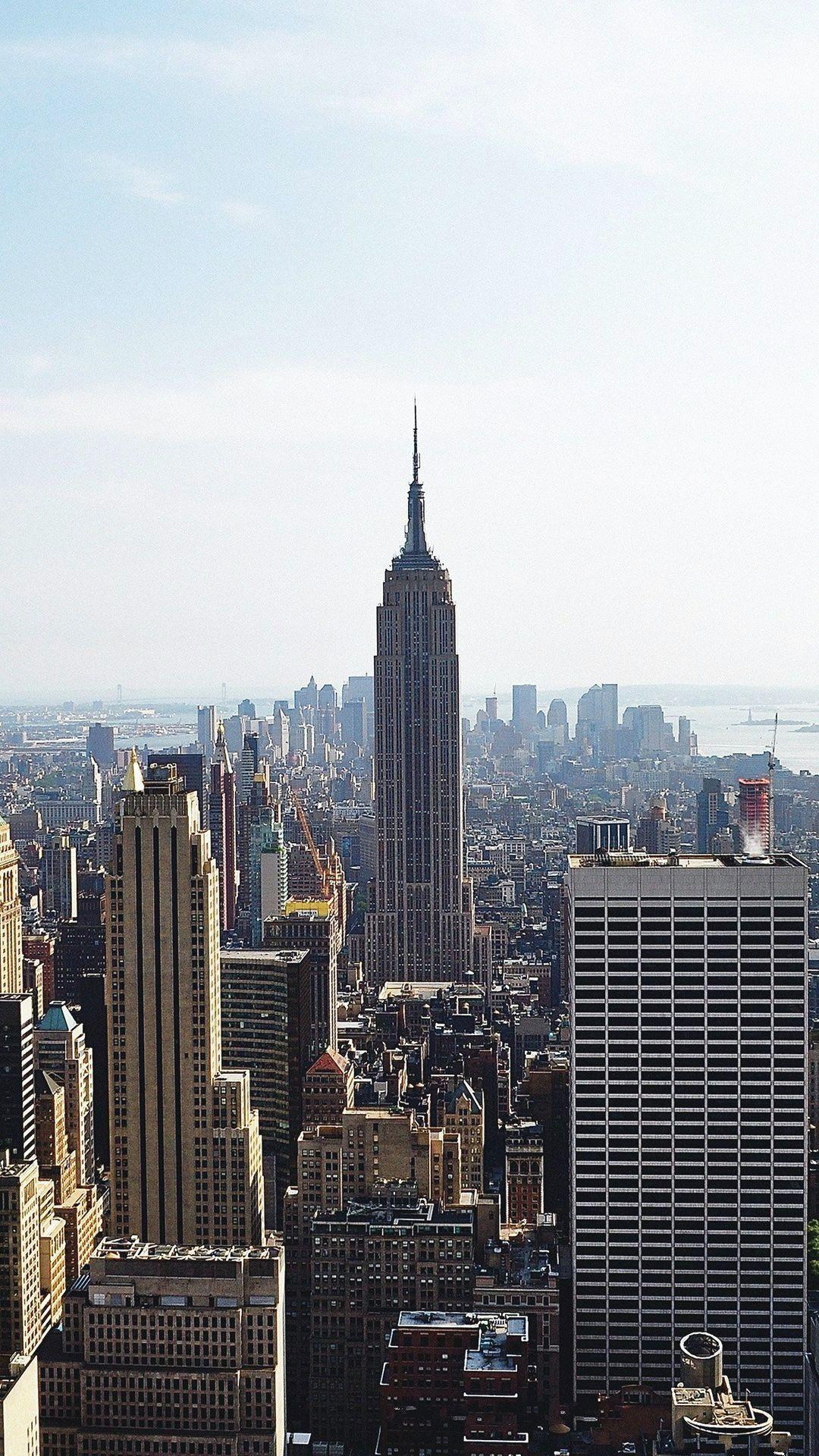 Building Architecture City Newyork Empire Usa Iphone 6