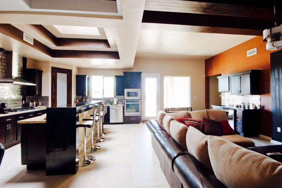 Living Family Room By Icon Custom Homes In El Paso Tx Family