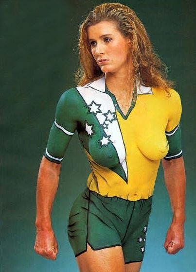 football art Women body