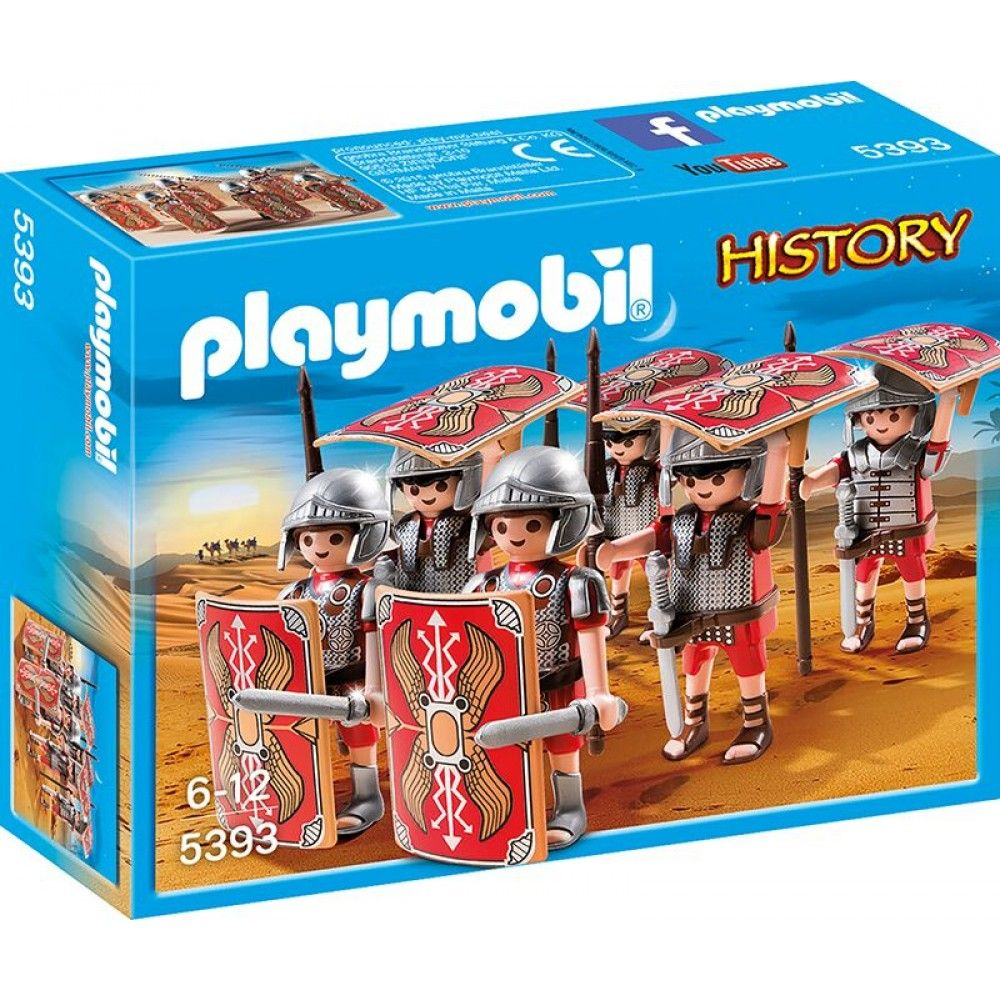 playmobil 5393 history r mer angriffstrupp playmobil spielwelten trendthemen. Black Bedroom Furniture Sets. Home Design Ideas