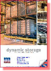 Dynamic Storage Systems, Pallet Live, Carton Live