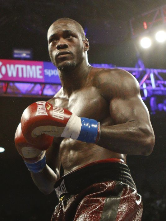 Deontay Wilder Boxing Workout Combat Sport Boxing Champions
