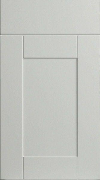 Shaker Porcelain White Kitchen Doors