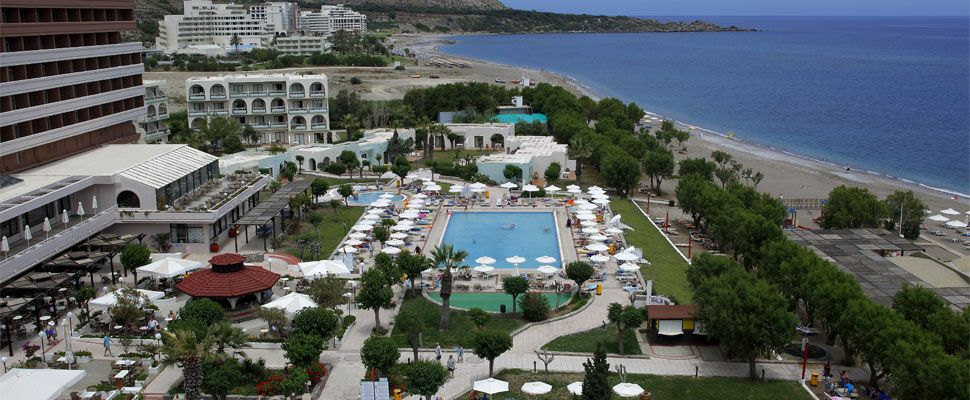 Louis Colossos Beach Hotel In Rhodes Island Greece