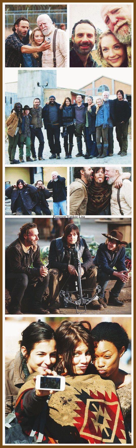 TWD Cast - Andrew LIncoln - Norman Reedus Steven Yeun - Lauren Cohan - Emily Kinney - Chandler Riggs, etc Love LOve LOVE!
