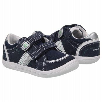 Stride Rite Jalen Tod Shoes (White/Navy/Silver) - Kids' Shoes - 4.0 M