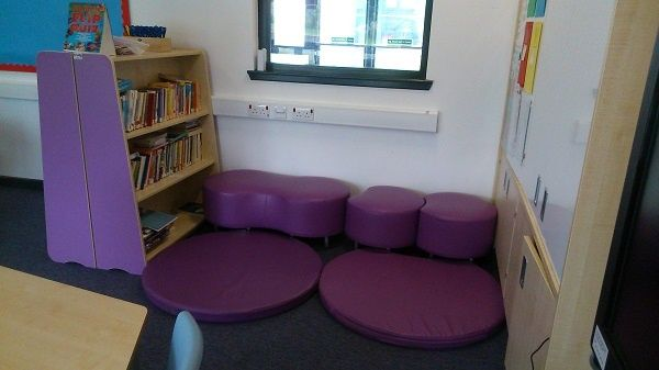 Exceptional Classroom Reading Corner With Trudy Furniture