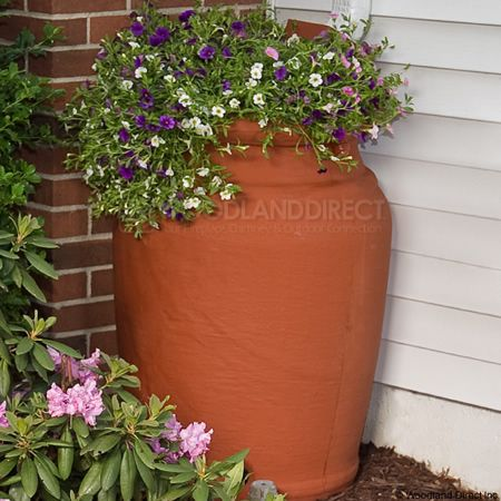 Planter Rain Barrel Yes Please This Is Perfect And Got Great